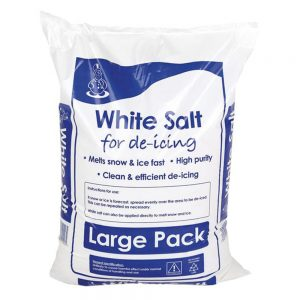 White Deicing Rock Salt 25kg