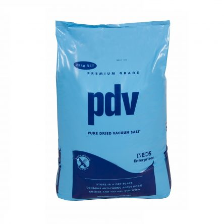 Pure Dried Vacuum PDV Salt Food Grade 25KG