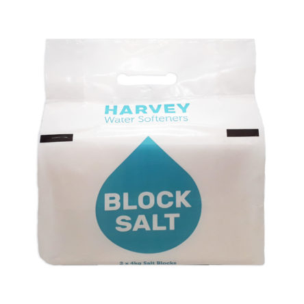 Harveys Block Salt 8KG Packs (2x4KG)