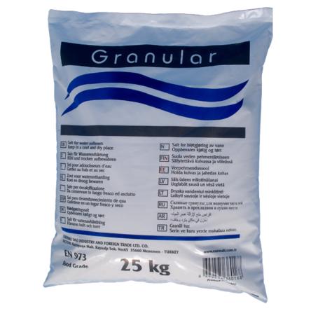 Aquamarine Granular Salt 25kg